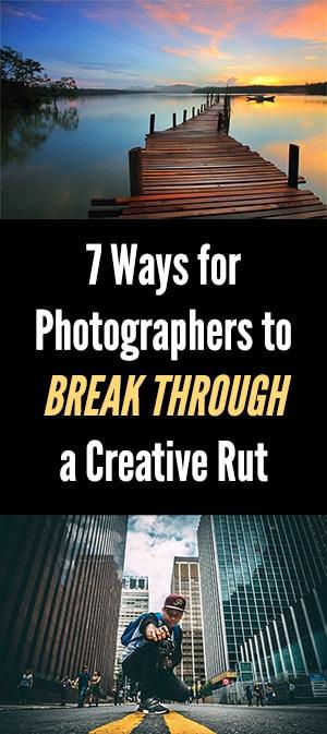 7 Tips to Burst Through a Creative Rut
