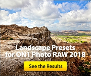 Landscape Presets for ON1 Photo RAW 2018