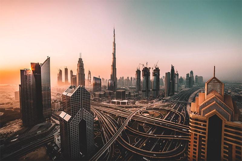 Dubai Skyline by David Rodrigo / Unsplash License