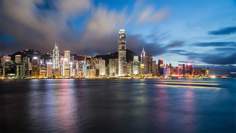 Hong Kong Skyline by Timon Studler / Unsplash License