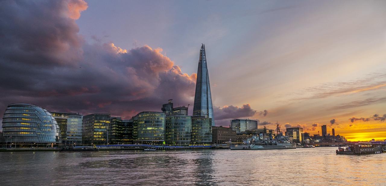 Cityscape in London