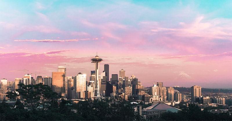 Seattle Skyline by Ben Dutton / Unsplash License