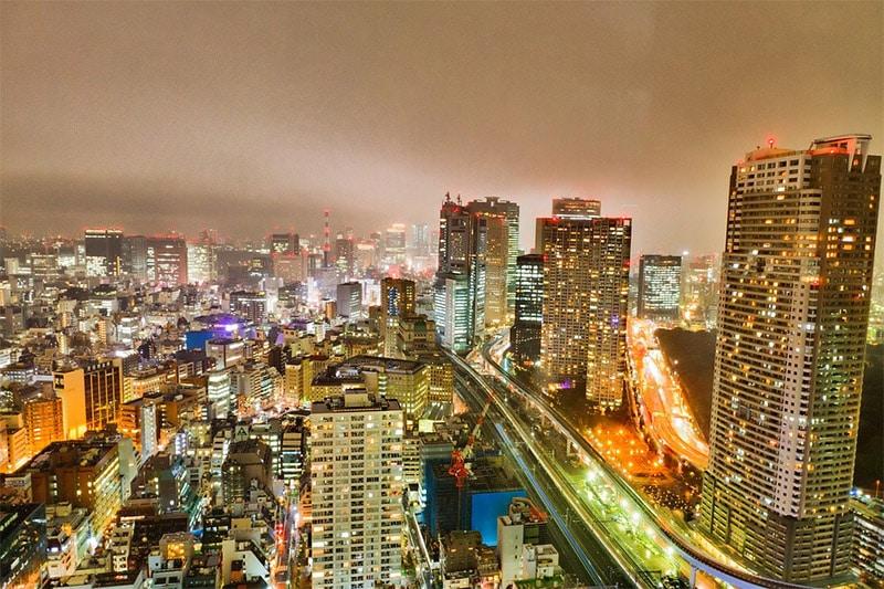 Tokyo Skyline by z0man / Pixabay License