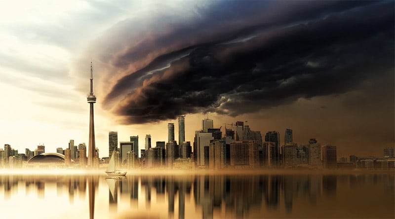 Toronto Skyline by Johannes Plenio / Unsplash License
