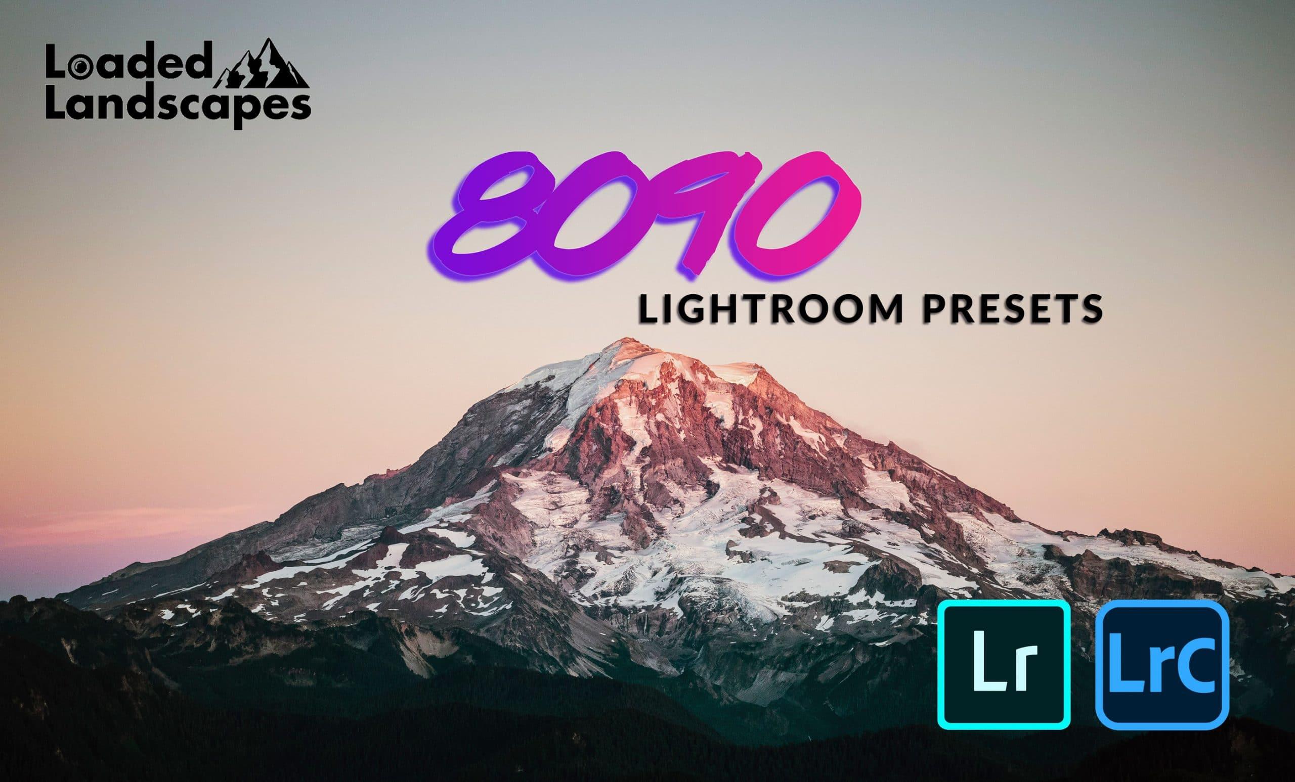 landscape lightroom preset