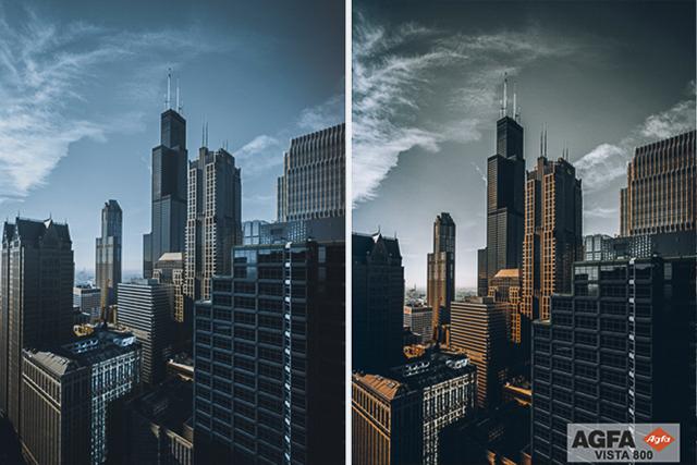 Agfa Vista 800, Film Preset for Landscape and Travel Photography, Lightroom Preset