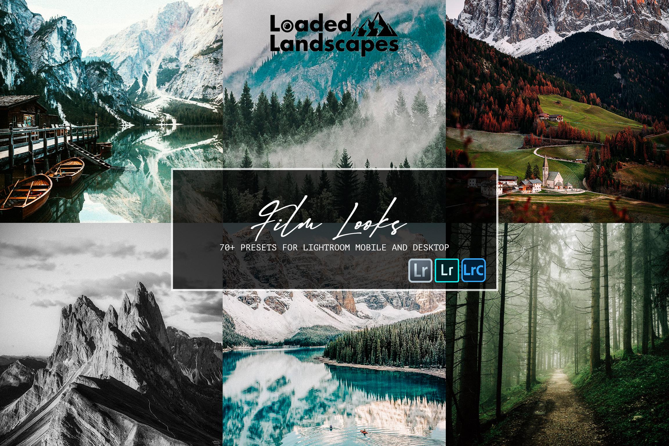Film Presets for landscape photography, travel photography film presets, nature photography